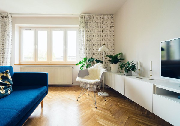 houses with minimalist style, harmonious colors